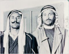 ed-Dib, à esquerda