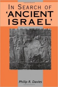 Davies, In Search of 'Ancient Israel'