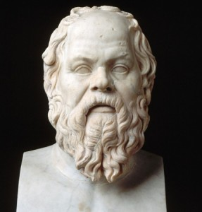 Sócrates (Atenas, ca. 470-399 a.C.) - Museus Capitolinos, Roma