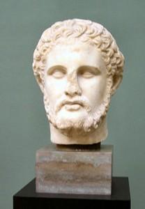 Filipe II, rei da Macedônia de 359 a 336 a.C.