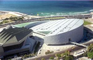 A nova Biblioteca de Alexandria, Egito