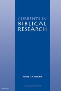 Currents in Biblical Research