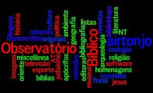 Marcadores do Observatório Bíblico