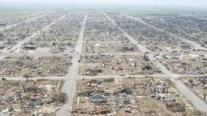 Tornado devastou Greensburg, Kansas, em 4 de maio de 2007