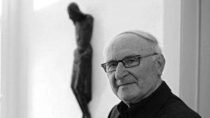 Johann Baptist Metz (1928-2019) - Foto: Friso Gentsch - Metz em Münster em 2008