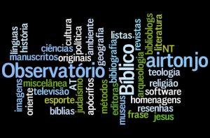 Nuvem de marcadores - Observatório Bíblico