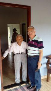 José Nicolau em 13 de janeiro de 2017 - 93 anos