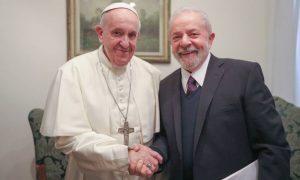Francisco e Lula em 13 de fevereiro de 2020 - Foto: Ricardo Stuckert