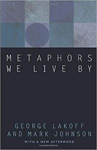 LAKOFF, G. ; JOHNSON, M. Metaphors We Live By. Chicago: University of Chicago Press, 2015.
