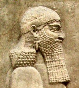 Senaquerib, rei da Assíria de 705 a 681 a.C.