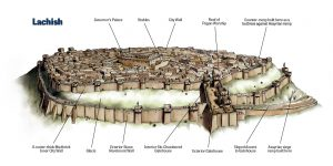 Laquis em 701 a. C.