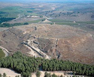 A elevação onde ficava Laquis (Tell ed-Duweir)