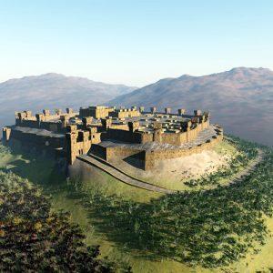 A fortaleza de Laquis, em Judá