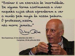 Rubem Alves, A alegria de ensinar, 2000