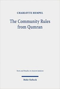 HEMPEL, C. The Community Rules from Qumran: A Commentary. Tübingen: Mohr Siebeck, 2020