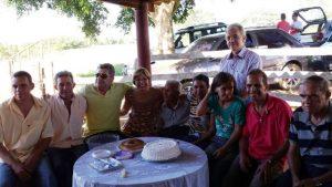 José Nicolau com seus 9 filhos