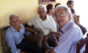 Com papai e tio Tonico (Antônio Mariano)