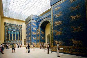 Porta de Ishtar da cidade de Babilônia - Pergamonmuseum, Berlin