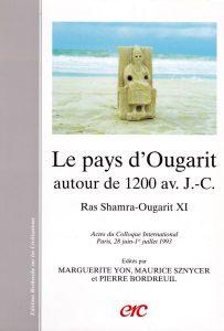 YON M., SZNYCER M. et BORDREUIL P. (éds), 1995, Le pays d'Ougarit autour de 1200 av. J.C., Actes du Colloque International, Paris, 28 juin- 1er juillet 1993, Ras Shamra-Ougarit XI, ERC, Paris.