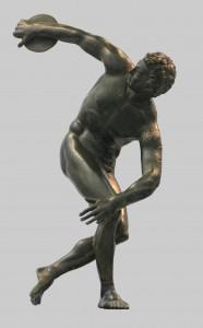 Cópia romana do Discóbolo, de Míron (séc. V a.C.)