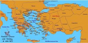 Grécia e Ásia Menor ca. 400 a.C.