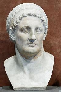 Ptolomeu I Soter: governou o Egito de 323-282 a.C. - Museu do Louvre, Paris