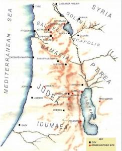 A Palestina no século I d.C.
