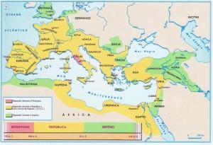 Roma e a expansão de seu território