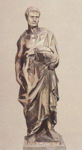 Jeremias de Donatello - Museo dell'Opera del Duomo, Firenze, Itália (ca. 1427)